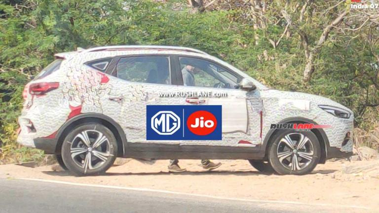 MG Astor Petrol SUV Internet Features To Be Powered By JIO