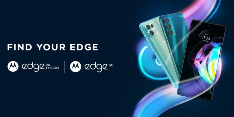 (*20*) Edge 20 Fusion, (*20*) Edge 20 Price in India Leaked Ahead of Launch; May Start at Rs. 21,499