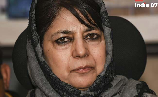 'Institutions Meant To Protect Our Rights Talibanised': Mehbooba Mufti