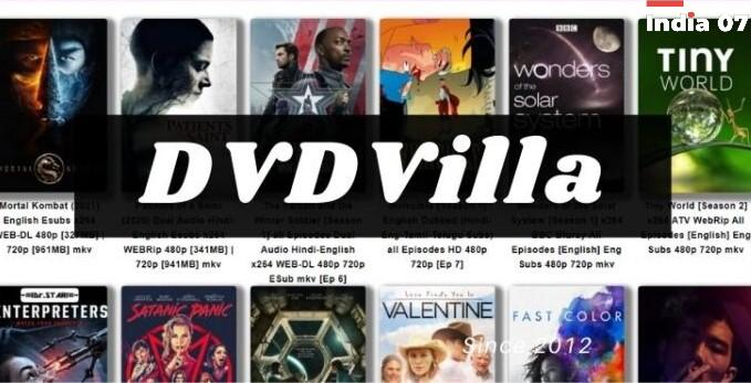 DVDvilla 2021: Free Download Latest Bollywood, Hollywood Hindi Dubbed Movies