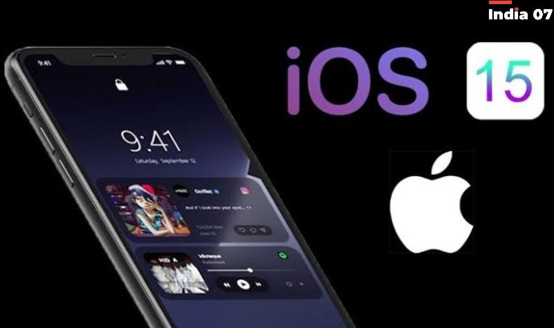 iOS 15 Launch date