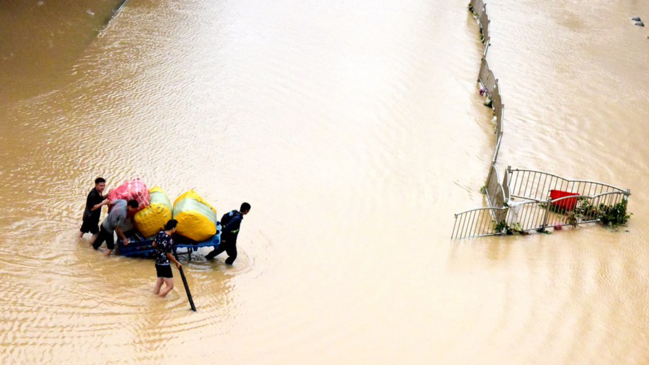 Deadly Floods Hit Central China, President Xi Jinping Describes Situation as 'Very Severe'