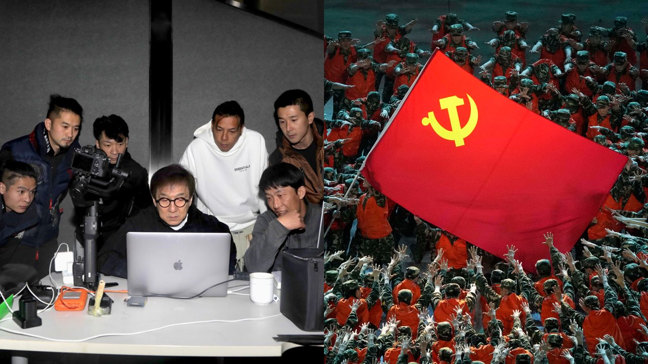 Hollywood Actor Jackie Chan Wants to Join China's Communist Party