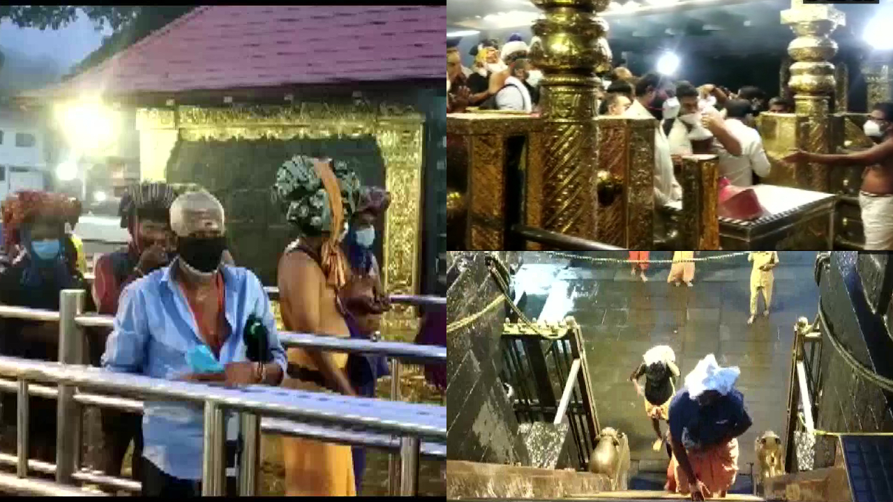 Sabarimala Temple Reopens for Devotees for 5 Days Under Strict Covid-Restrictions