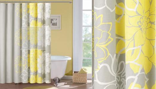 India Art N Design Product Hub Shower Curtains