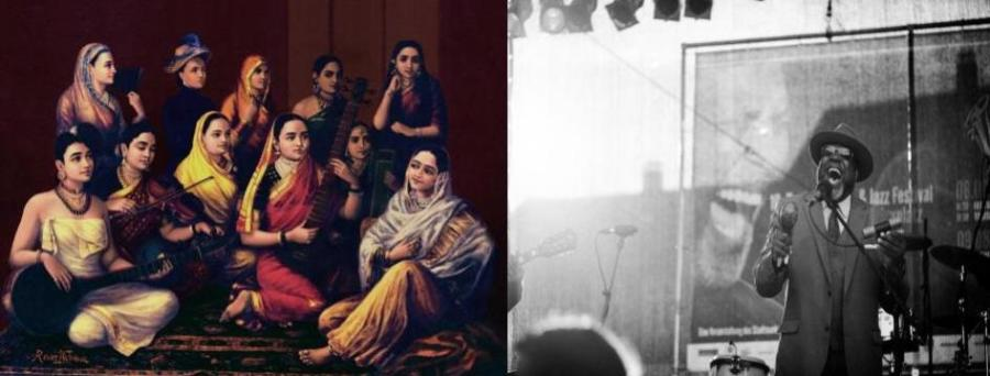 Indian Classical music vs. Jazz blues