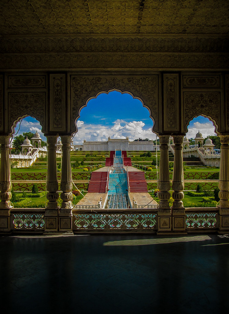 The dreamy Ramoji Film City in Hyderabad, Andhra Pradesh