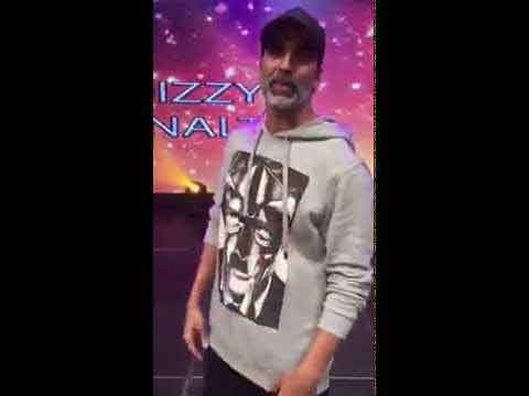 Akshay Kumar Takes the Dizzy Goals Challenge