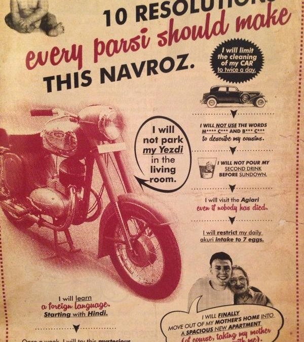 Happy Navroz To Our Parsi Readers. Jiyo Parsi !