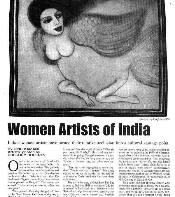 Women Artists of India