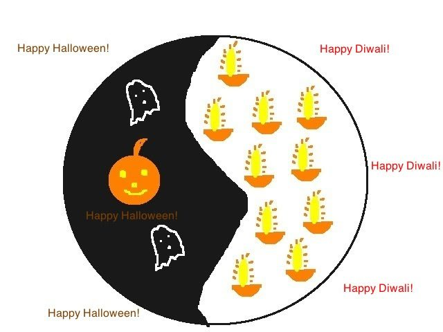 Yin-Yang of Diwali and Halloween
