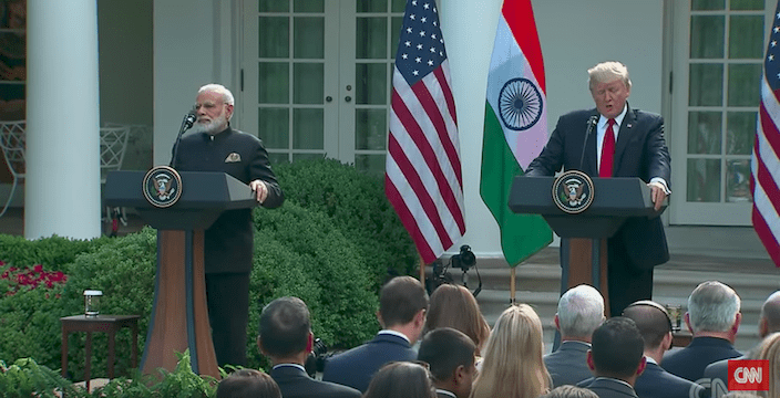 Prime Minister Modi and President Trump's Joint Statement on India/U.S. Relations