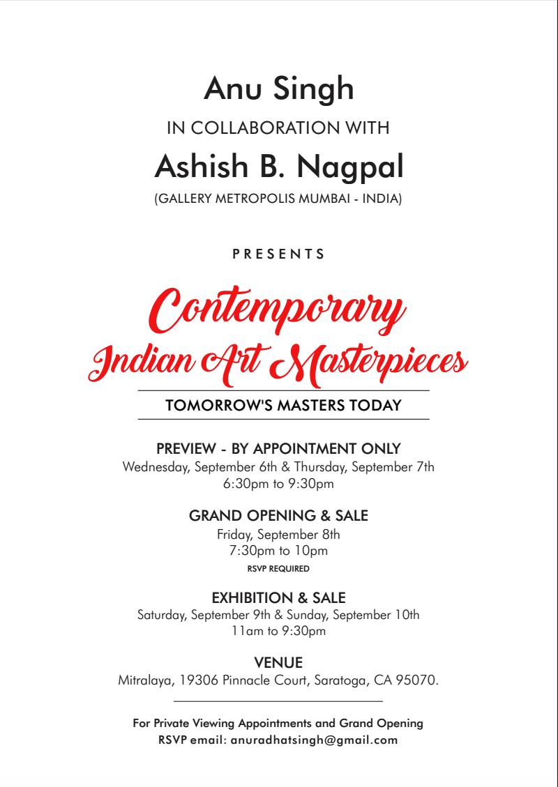 Contemporary Indian Art Masterpieces