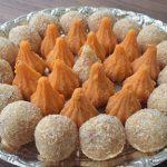 In the Festival Season: Kesar Peda Modak and Gulkand Coconut Ladoo