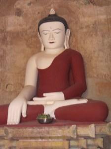 Buddha at Sulamani Pahto -   Bagan