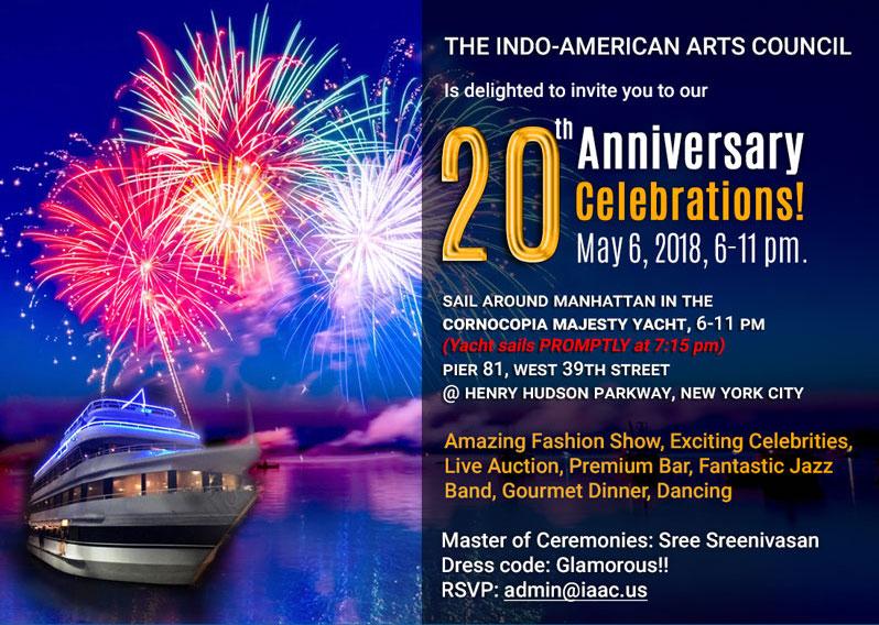 Indo-American Arts Council 20th Anniversary Gala