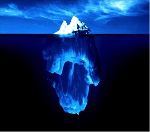 Love is Like an Iceberg
