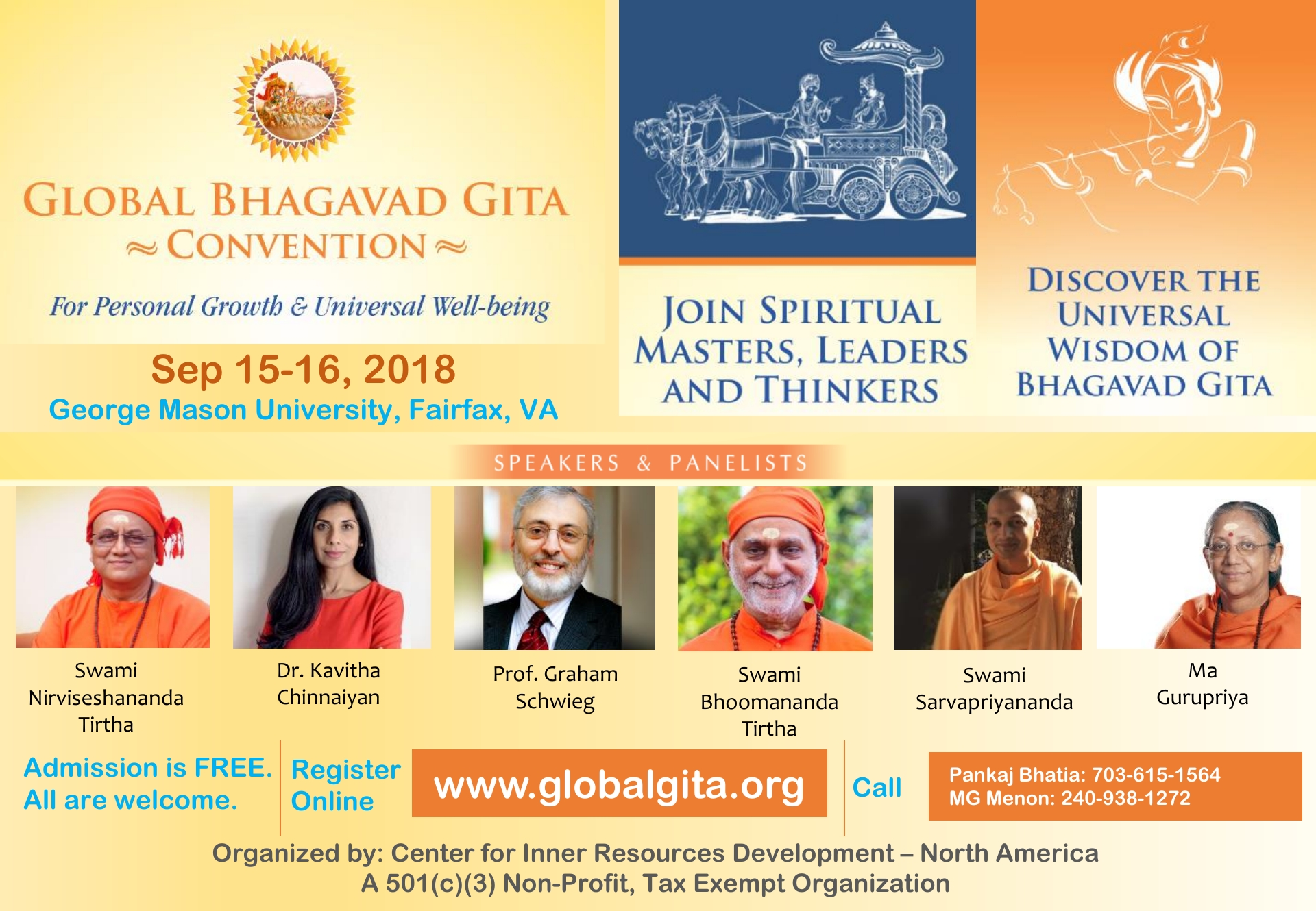 Global Bhagavad Gita Convention