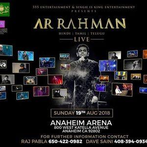 A.R. Rahman Live