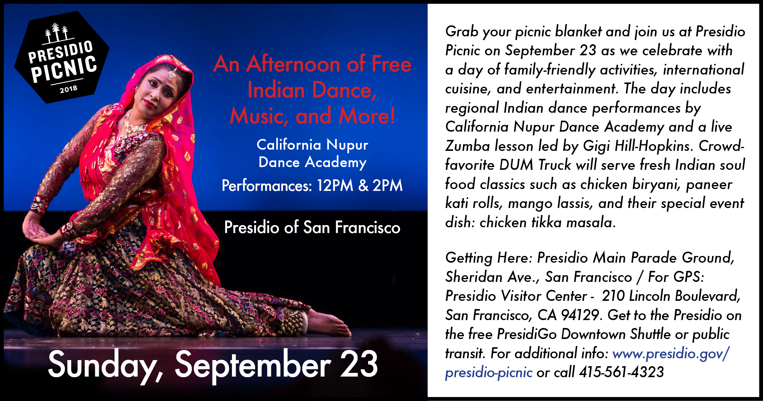 Presidio Picnic: Indian Day