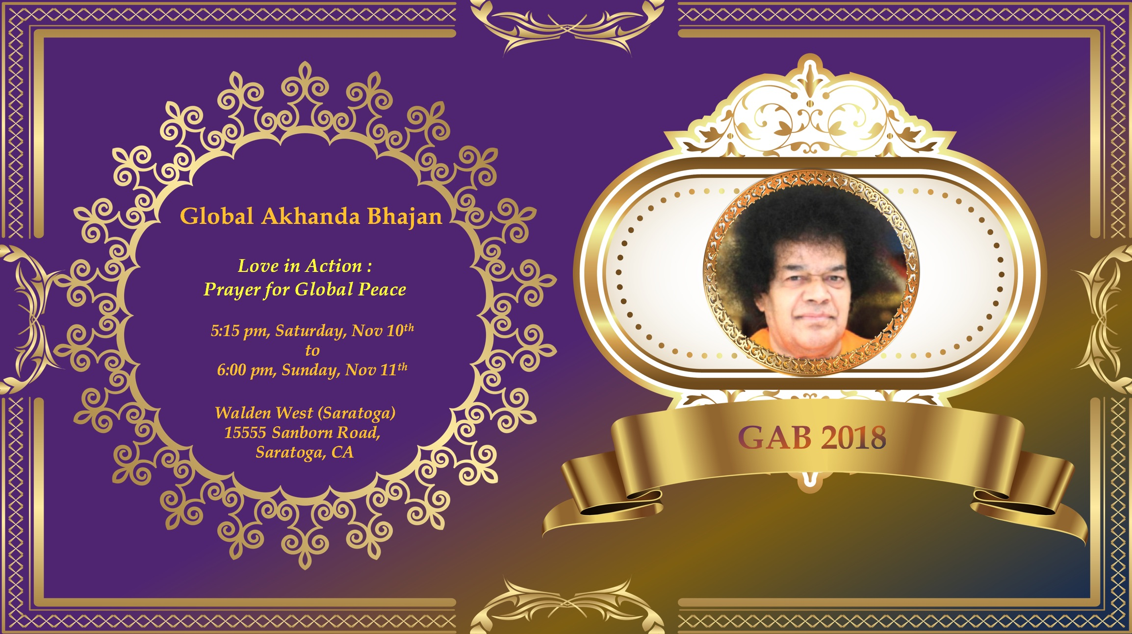 Global Akhanda Bhajan