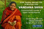 Peninsula Open Space Trust Dr. Vandana Shiva Talk