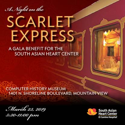 A night on the Scarlet Express - Annual Gala