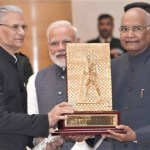 Ekal Honored With Gandhi Peace Prize