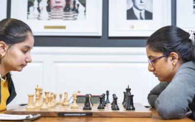 Ashritha Eswaran At US National Chess Championship