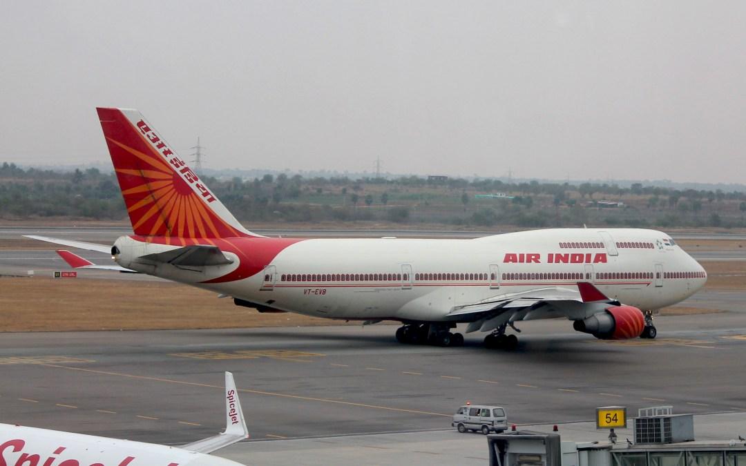 Air India Strikes Again