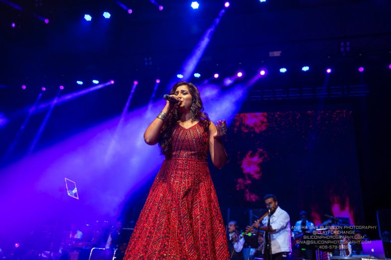 San Jose Shows Up for Shreya Ghoshal