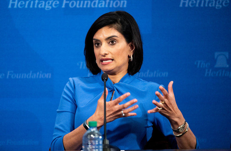 Verma Attacks Critics Of Medicaid Work Requirement, Pushes For Tighter Eligibility