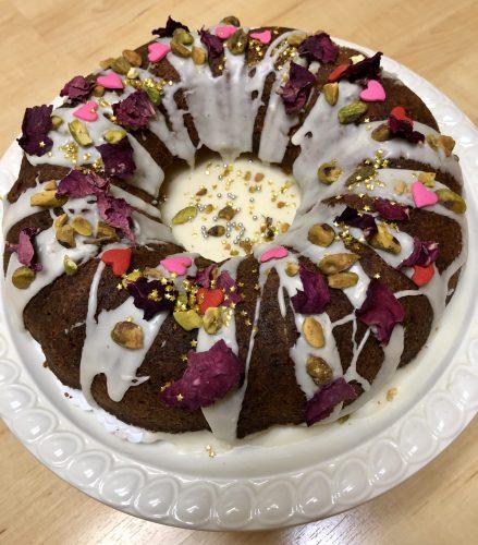 Gulab Jamun Cake made by Mona Shah