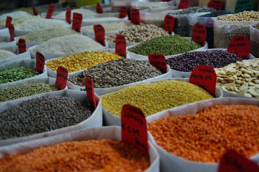 South Asian diet contributing to gut microbiomes.