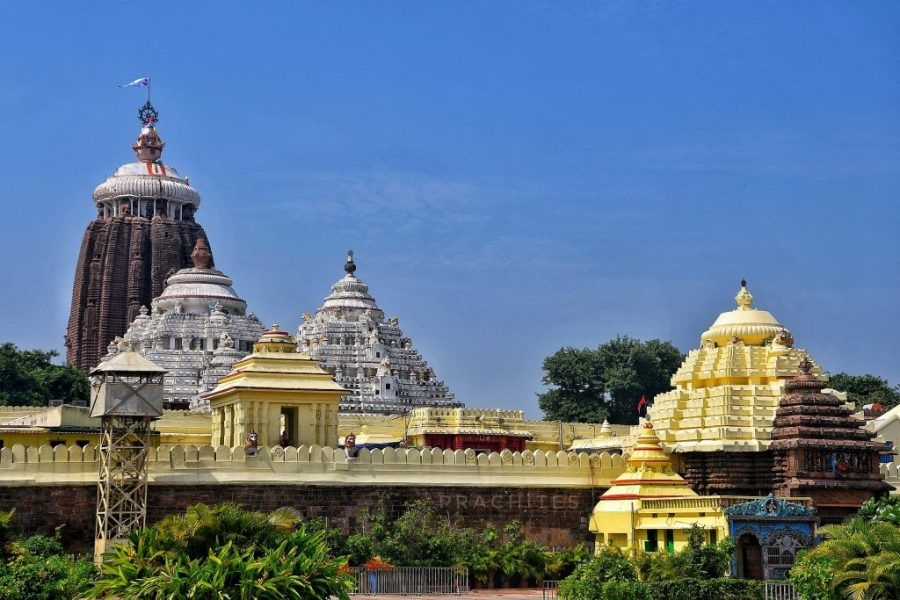 Shri Jagannatha Temple (Image from Wikimedia Commons under Creative Commons License 4.0)