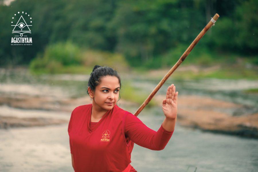 Sreedevi as part of the Nalludal program.