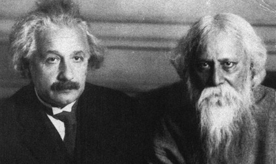 Tagore and Einstein (Image from Wikimedia Commons)