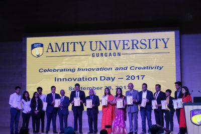 Amity University Gurugram Celebrates Innovation Day 2017 India Education Education News India Education News India Education Diary
