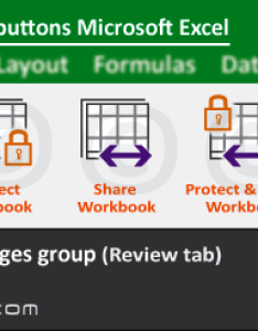Changes group tools of review tab ms excel also buttons in microsoft rh indiaexcel
