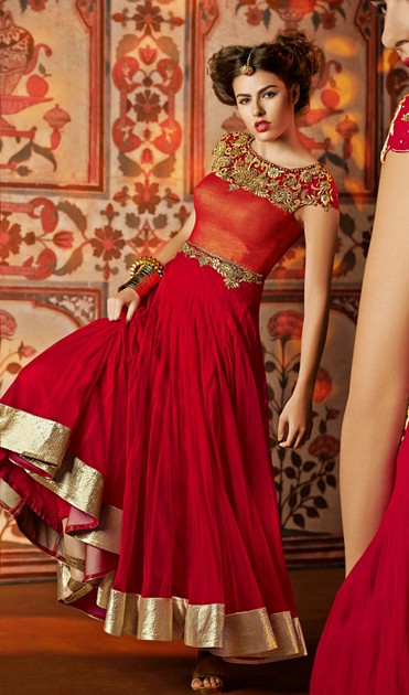 Anarkali Embroidered : Online Shopping, - Shop for great ...