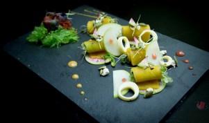 Guppy Hanami- Smoked Pumpkin Salad