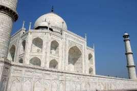 Taj mahal. Golden Triangle Tours of Delhi, Agra and Jaipur