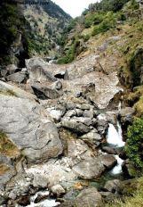 Trek to Dahrmkot Waterfall. Dharmsala
