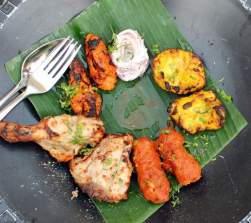 Indian Non-vegetarian platter