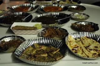 food walk in new delhi