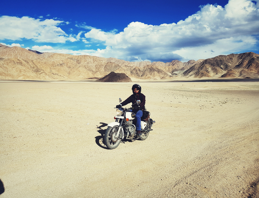 motor bike and Cycle riding