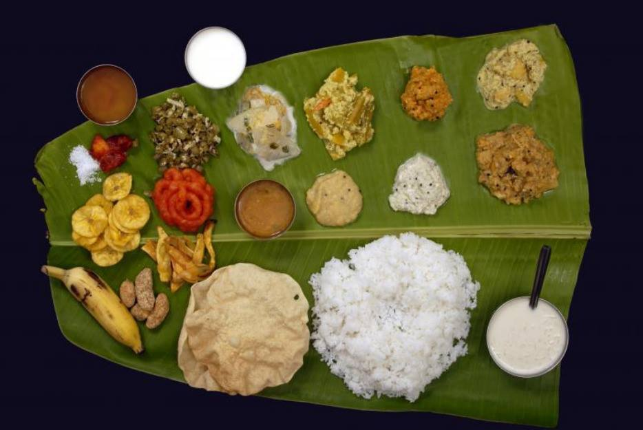 South Indian meals
