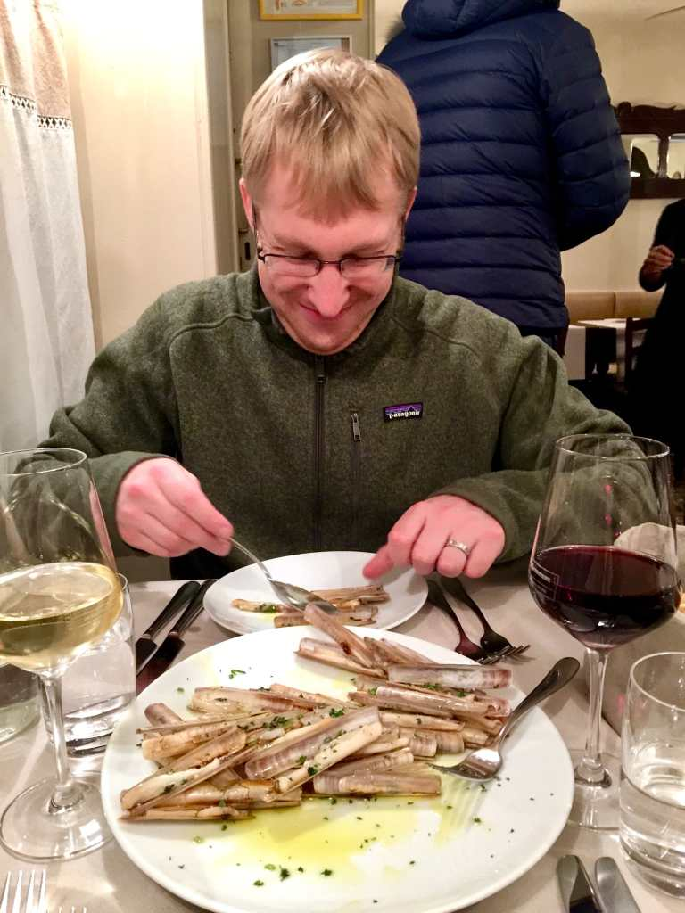 Razor Clams at Osteria alle Testiere