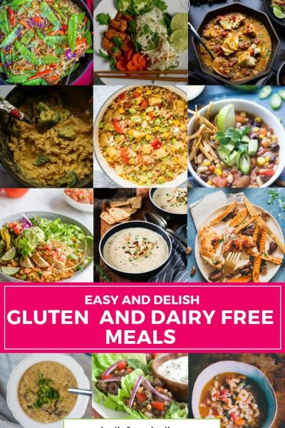 Gluten Free and Dairy Free Meals