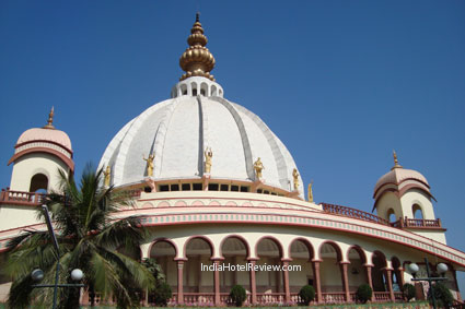 The ISKCON Temple at Mayapur Dham